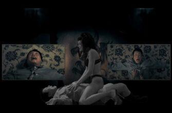 """Кадры из фильма """"Поцелуй дракона"""" где проститутка убивает олигарха"""