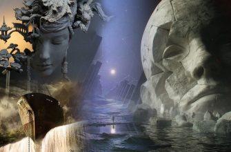 Арго, Гаргона, река и разрушенная статуя